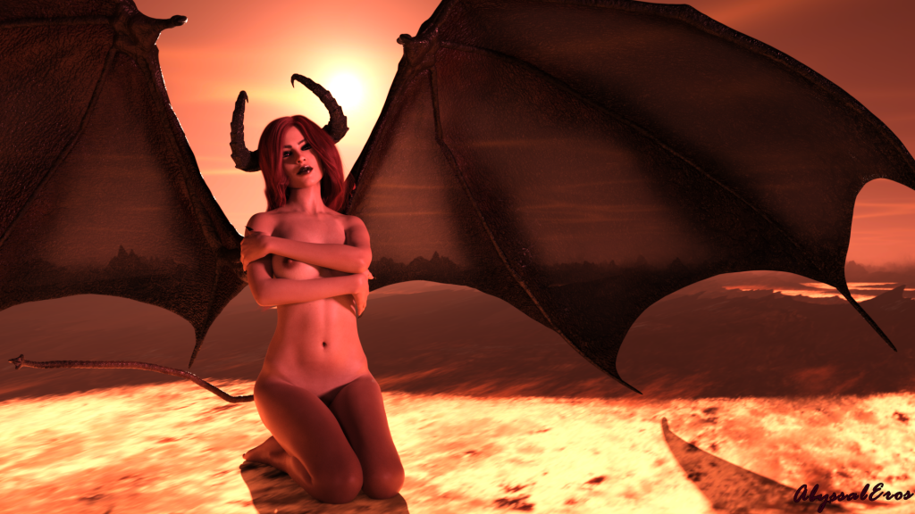 A succubus longing for her lost lover.